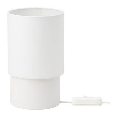 TOMTA Лампа настольная, белый, 19 см, 80255177, ИКЕА, IKEA, TOMTA, фото 2