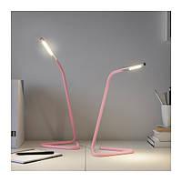 ХОРТЕ Настольная лампа, светодиодная, розовый, 00325933, ИКЕА, IKEA, HÅRTE