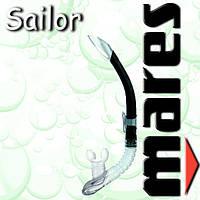 Трубка Mares SAILOR для сноркелинга (черная)