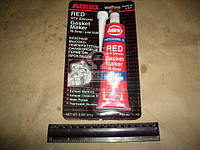 Герметик прокладок 85гр красный ABRO 11-AB, AAHZX