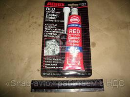 Герметик прокладок 85гр красный ABRO (арт. 11-AB), AAHZX
