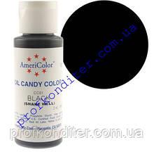 Барвник Americolor для шоколаду Чорний