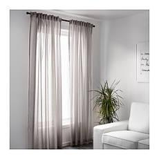 ВИВАН Гардины, 1 пара, серый, 145x300 см, 00297567, ИКЕА, IKEA, VIVAN, фото 2