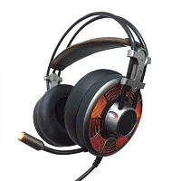 К2 Складная стерео проводная гарнитура с микрофоном Чёрный