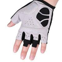 Перчатки на половину пальца для езды на велосипеде S