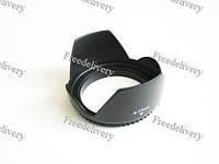Бленда для объектива 77мм, лепестковая Canon Nikon