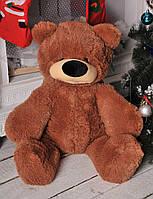 Плюшевый Медведь  Бублик 70 см Коричневый