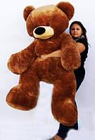 Плюшевый Медведь  Бублик 200 см Коричневый