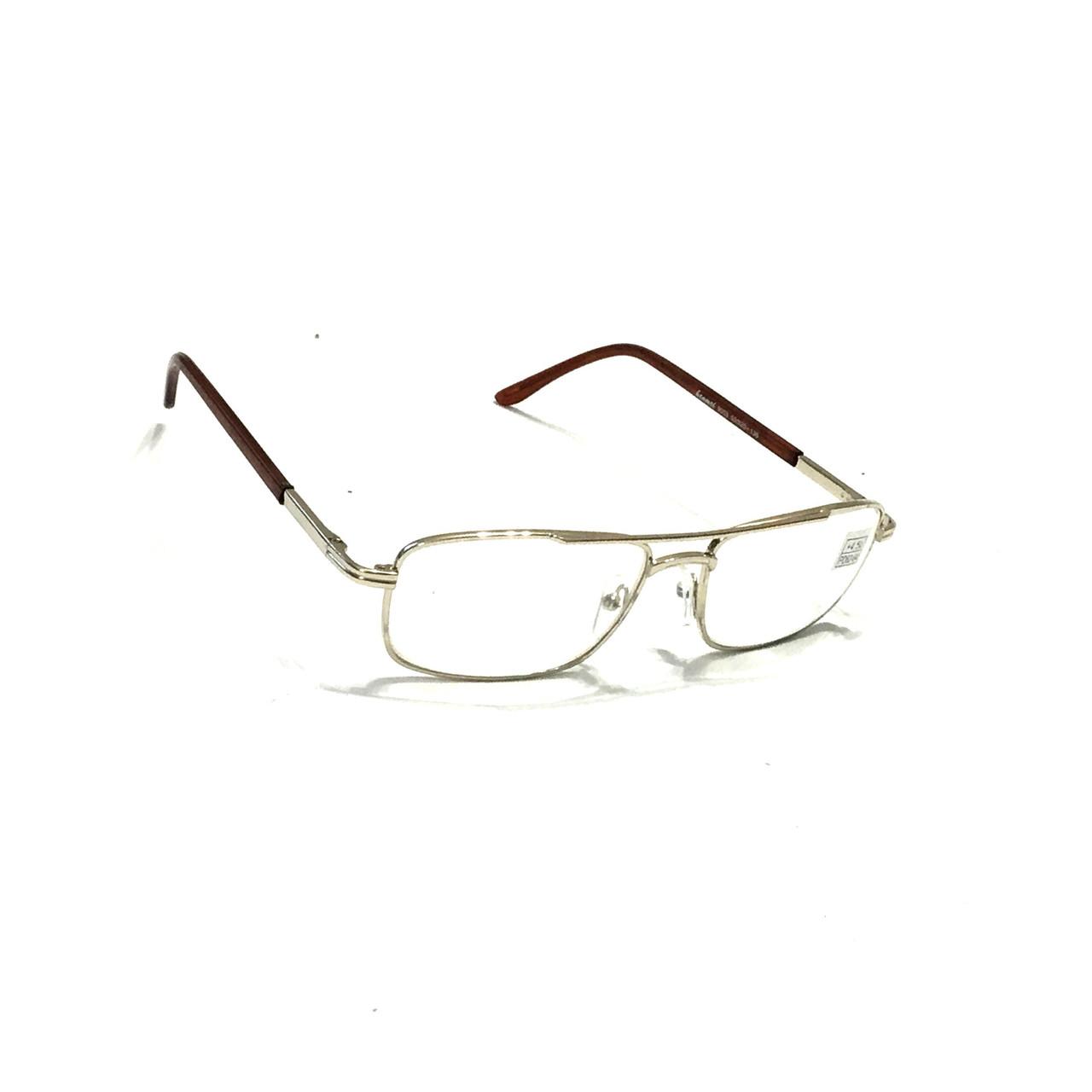 Мужские очки с белой линзой
