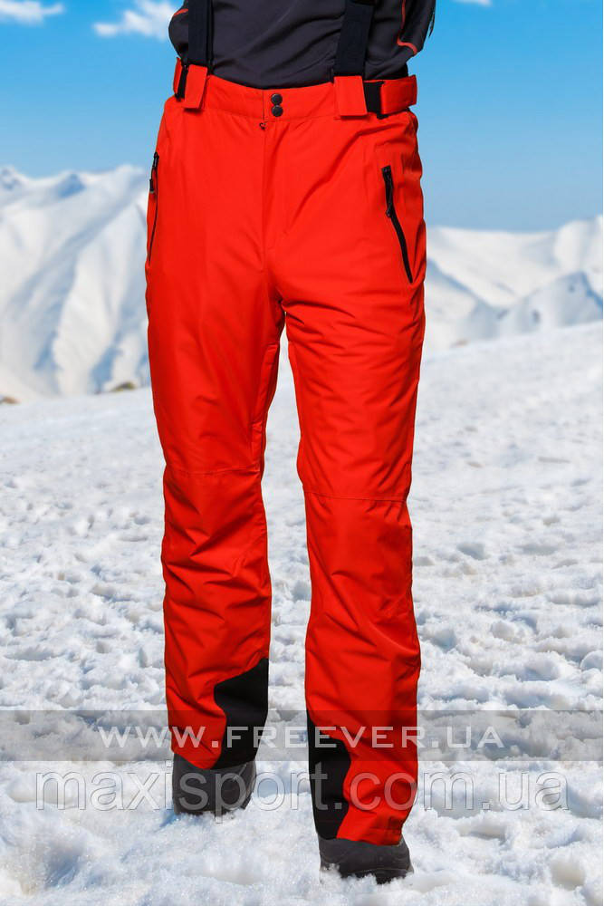 Брюки Freever лыжные муж. (6758) Orange