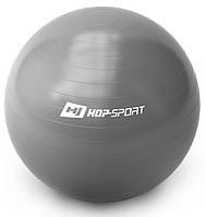 Фитбол Hop-Sport 65cm silver + насос