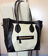 Стильная женская сумка с леопардовым принтом