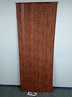 Дверь ширма гармошка, 4785 мрамот темный, 820х2030х0,6 мм, раздвижные межкомнатные пластиковые глухие