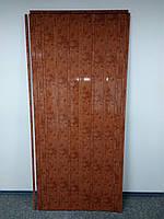 Дверь гармошка глухая ЭЛИТ, 4785 мрамор темный, 880х2030х10 мм