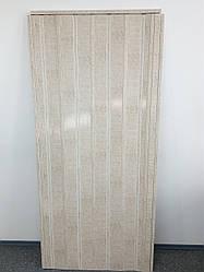 Дверь гармошка глухая ЭЛИТ, 820 секвоя, 880х2030х10 мм