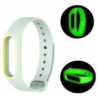 Светящийся браслет для Xiaomi Mi Band 2 Светло-зеленый