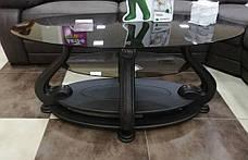 Стол журнальный стеклянный Милан МС-1 Антоник, цвет на выбор, фото 3