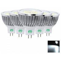 5шт YWXLight Сид MR16 2835smd светодиодные лампы лампада лампы прожектора освещения переменного тока постоянного тока 12В Холодный белый свет
