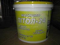 Смазка Литол-24 гост Экстра КСМ-ПРОТЕК (банка 2,7кг) Смазка, ABHZX