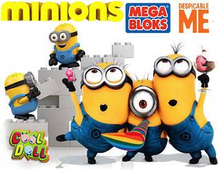 Конструкторы Mega Bloks minions