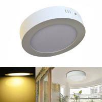 Jiawen свет водить панели 12w круглый потолочные светодиодные светильники переменного тока 85-265В Тёпло-белый