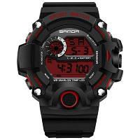 SANDA 326 5305 Досуг Мода Открытый Спорт Многофункциональный Мода Мужчины Часы Красный