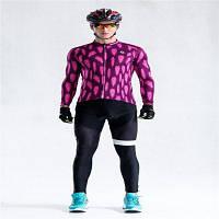 Malciklo 18 мужской быстросохнущий компрессионный костюм на осень для велоспорта XL