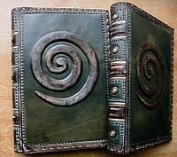 Обложка кожаная на ежедневник