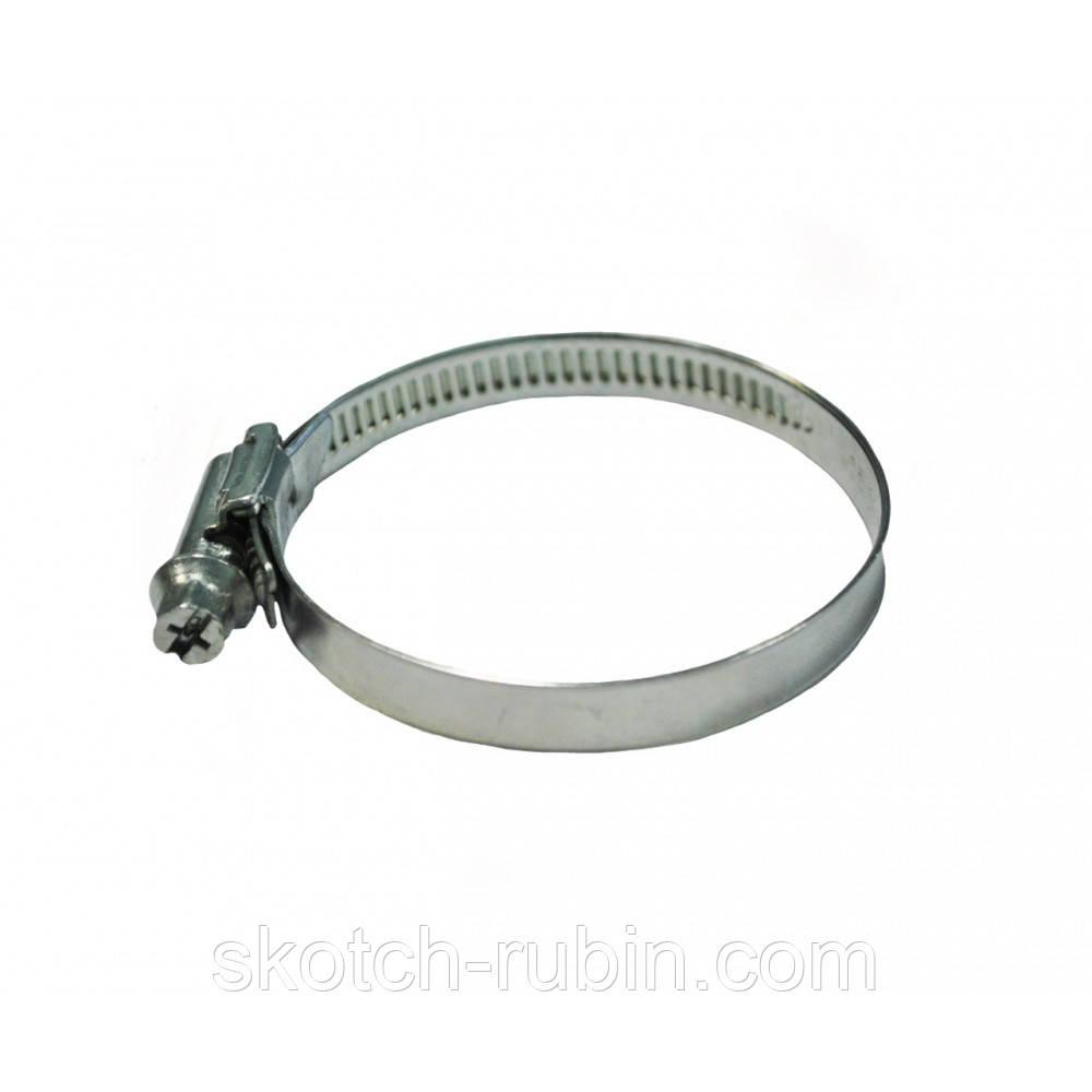 Хомут червячный нержавейка Replica Flex 8-12 мм 100 шт