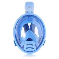 M2099KID детская маска с трубкой и панорамным видом 180 градусов для подводного плавания 1 шт