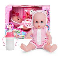 Детская разведка Бутылки для кукол образовательная кукла будет кричать смеяться, чтобы накормить игрушки для девочек Красный