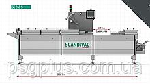 Термоформер для м'ясних і колбасны виробів SC240M