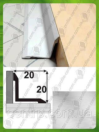 АВ 20*20. Угол внутренний, без покрытия, 20мм*20мм. Длина 2,7м.