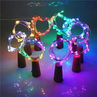 Jueja Многоцветной светодиодной ленты провод строку света с бутылки пробку для стеклянного ремесла Святого Валентина свадьба украшение Лампа 48918
