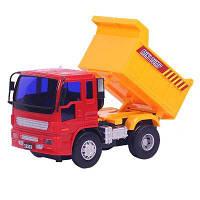 Модель транспортного средства с инерционным двигателем для автомобилей с двигателем сзади от самосвала 32503 Красный