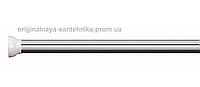 Карниз алюминиевый (хром) 140-260 см