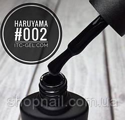 Гель-лак Haruyama №002 (черный),  8 мл, фото 2