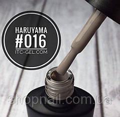 Гель-лак Haruyama №016 (серо-бежевый), 8 мл, фото 2