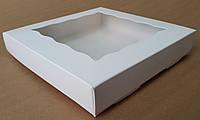 Коробка для кондитерских изделий 20х20х3,5 см