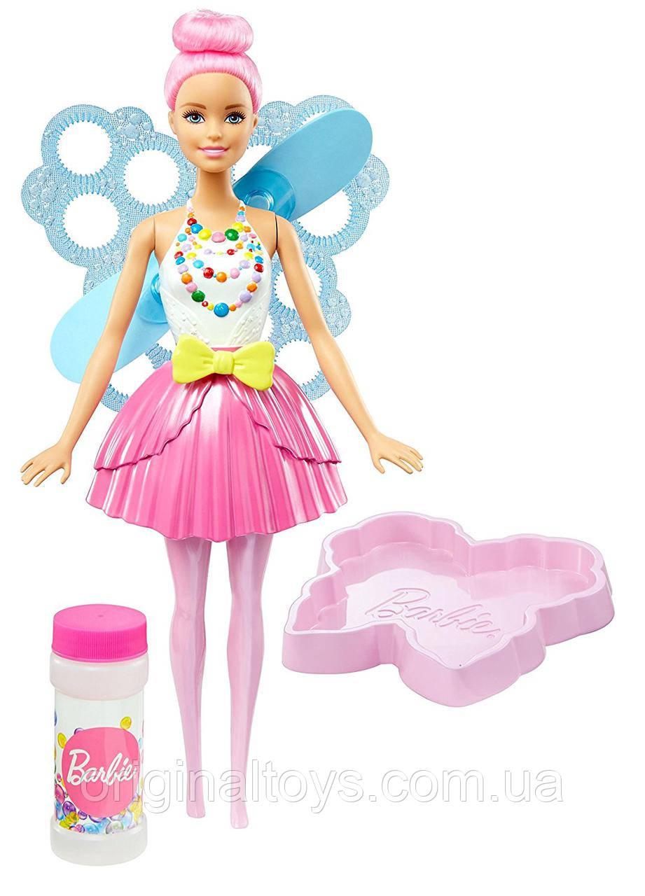 Лялька Барбі Фея Казкові бульбашки Дримтопия Barbie Dreamtopia Bubbletastic Fairy