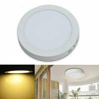 Jiawen светодиодная панель света 18w круглые светодиодные потолочные светильники AC 85-265V Тёпло-белый
