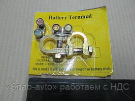 Клемма аккумулятора без провода (комплект 2шт.)  КАМАЗ,МАЗ,ГАЗ,Трактора (арт. 5320-3703001/2)