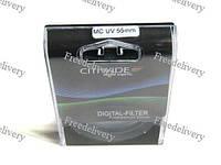 Ультрафиолетовый UV-MC фильтр 55мм CITIWIDE