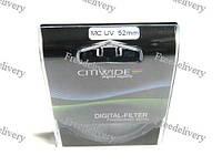 Ультрафиолетовый UV-MC фильтр 52мм CITIWIDE