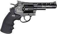 Револьвер пневм. ASG Dan Wesson 4'' Black 4,5 мм