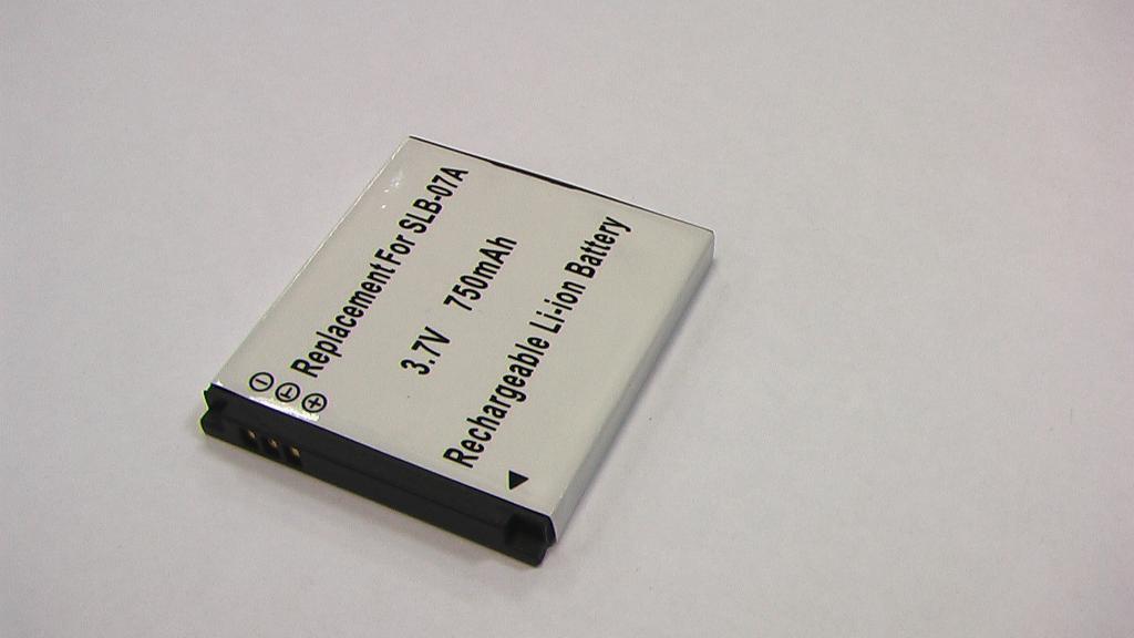 Батарея для Samsung SLB-07A, PL150, ST45, ST50, ST500, ST550, ST600, TL100, TL210, TL220, TL225, TL90