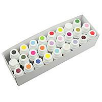 Краситель гелевый набор Criamo (26 цветов по 10гр) Галетте  -06236