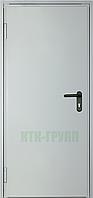Двери противопожарные металлические глухие ДМП ЕІ30-1-2100х900