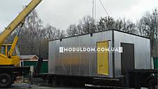Вагончик под производство, модульный, мобильный (8 х 4 м.), на основе цельно-сварного металлокаркаса., фото 2