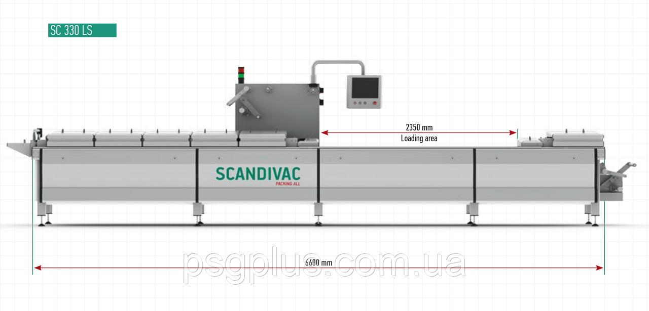 Термоформовочная линия для сырных продуктов SC330LS